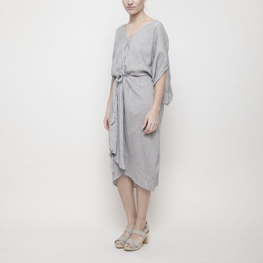 Kimono Dress SS15 - Black Dots   7115 by Szeki