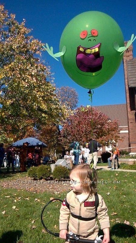 halloween costumes ideas The Littlest Toddler Ghostbuster Costume. & Ghostbusters Halloween costume | halloween costumes | Pinterest ...