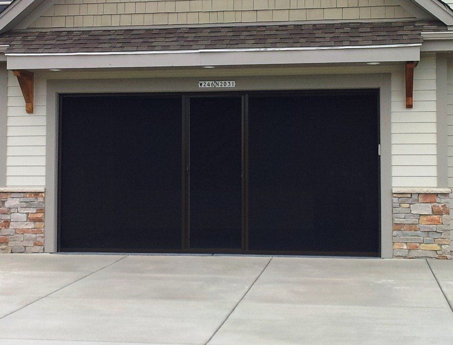 Garage Door Screen Panels Black John Robinson House Decor For