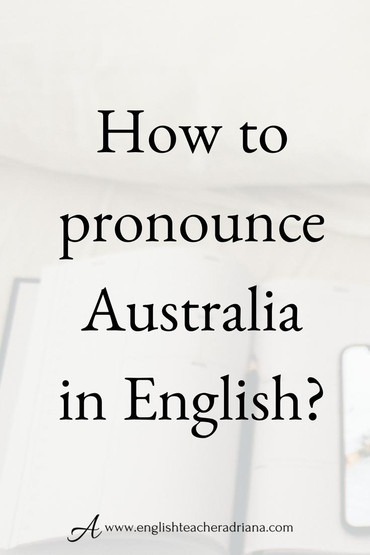 How To Pronounce Australian City Names English Pronunciation