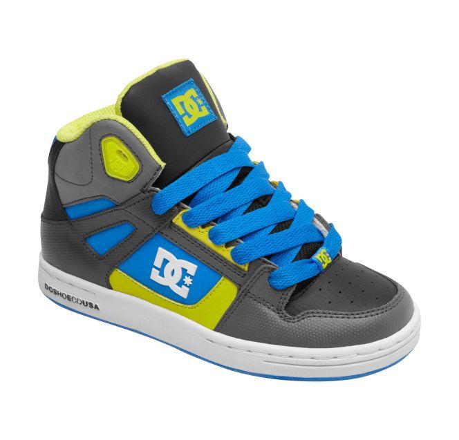 6206211869 Kid s 8-16 Rebound High-Top Shoes 302676B. Dc ClothingBoy ...