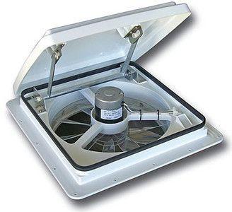 Maxxfan Plus 0004000k White Rv 10 Speed Fan W Manual Opening Roof Vents Rv Van Life