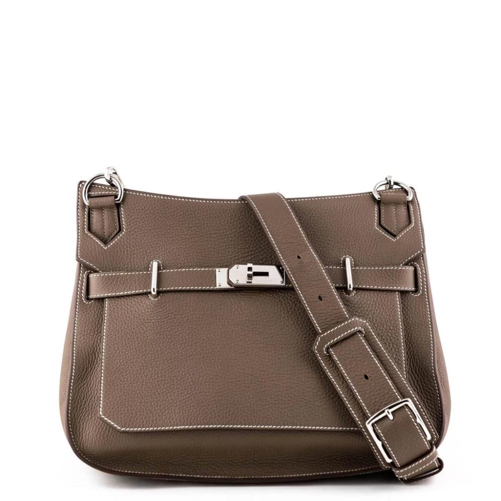 Hermes Etoupe Clemence Jypsiere 34 Bags Bags Designer Bag Accessories
