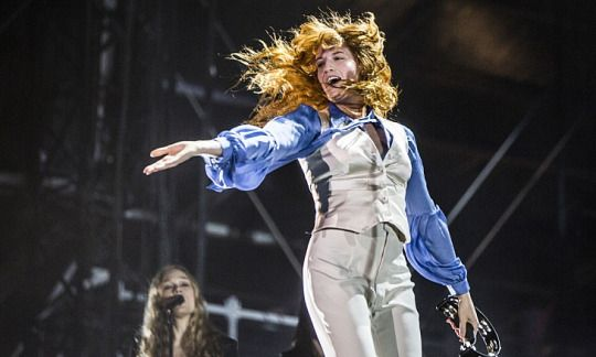 Florence + the Machine at Yasalam Festival during the Formula 1 Grand Prix weekend in Abu Dhabi #HowBigTour