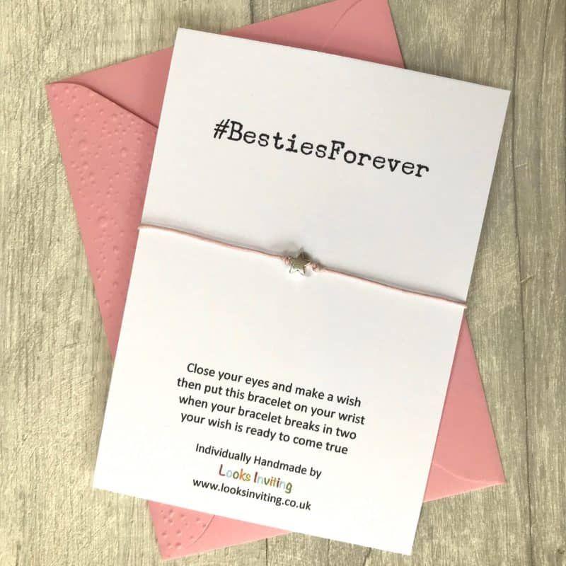 Star Charm Charm Bracelet Special Friend Prosecco Wish Bracelet Best Friends Gift Anklet. Friendship Bracelet Prosecco Gift