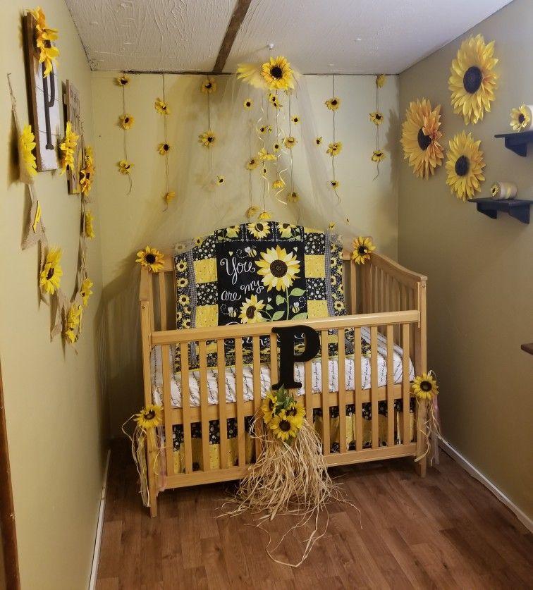 Baby Crib In Master Bedroom
