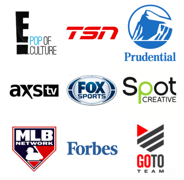 E Entertainment Tsn Prudential Axs Tv Fox Sports Spot Creative Productions Mlb Network Forbes Go To Team Tv Sport Fox Sports Prudential