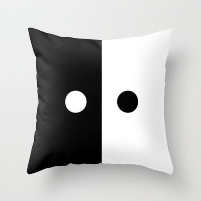 TODAY IS TOMORROW Throw Pillow by THE USUAL DESIGNERS - $20.00