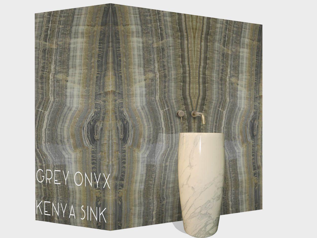 Abc Worldwide grey onyx vein cut abc worldwide material portfolio