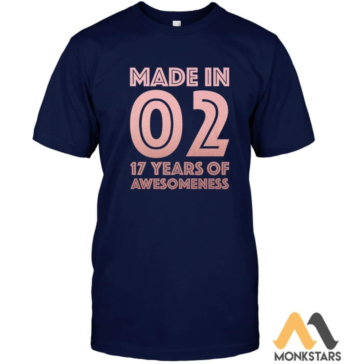 17th Birthday Shirt Girl Age 17 Year Old Gift Teen Daughter - Monkstars Inc. #17thbirthday