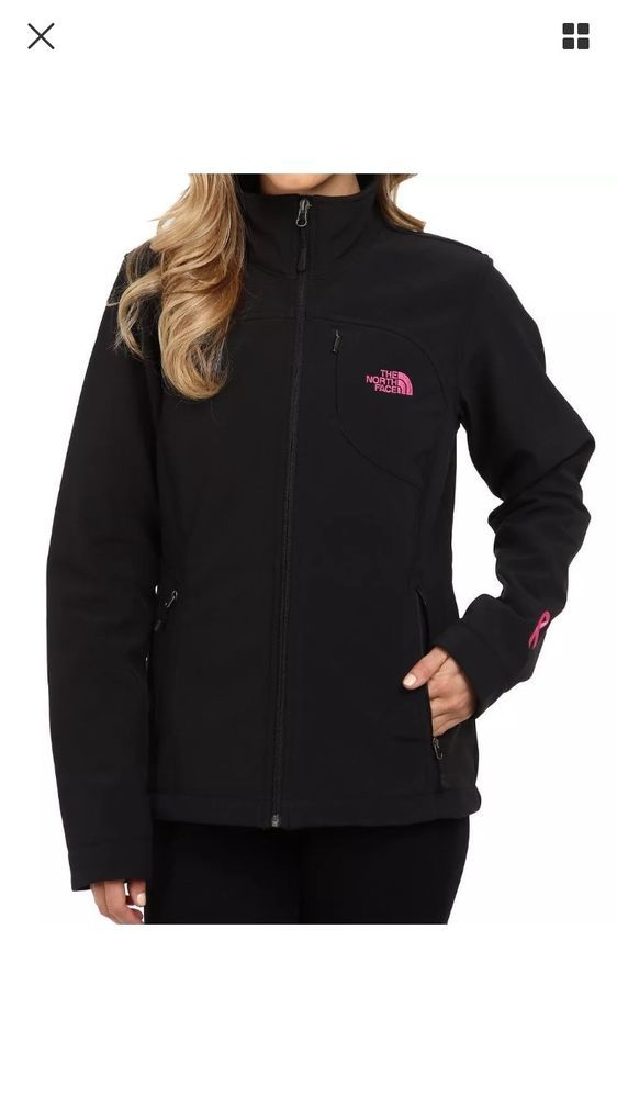 647ea2eb9313 THE NORTH FACE Apex Bionic Pink Ribbon Womens Jacket Softshell Small   TheNorthFace  BasicJacket