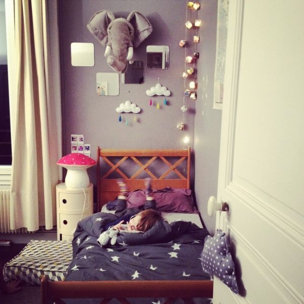 troph e l phant veilleuse champignon nuages en vente chez pois plume d co chambre enfant. Black Bedroom Furniture Sets. Home Design Ideas