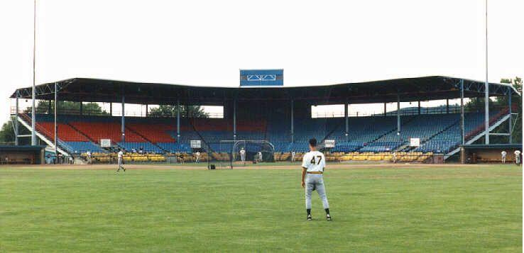 Dunn Field Elmira Soccer Field Stadium