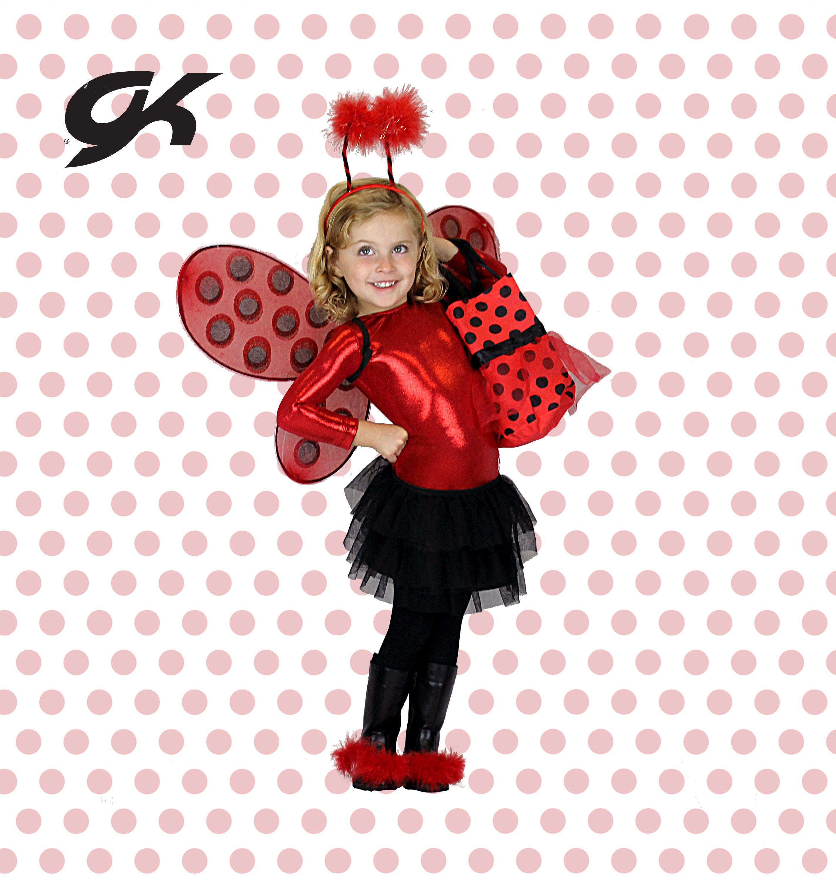 Gymnastics Leotard Ladybug