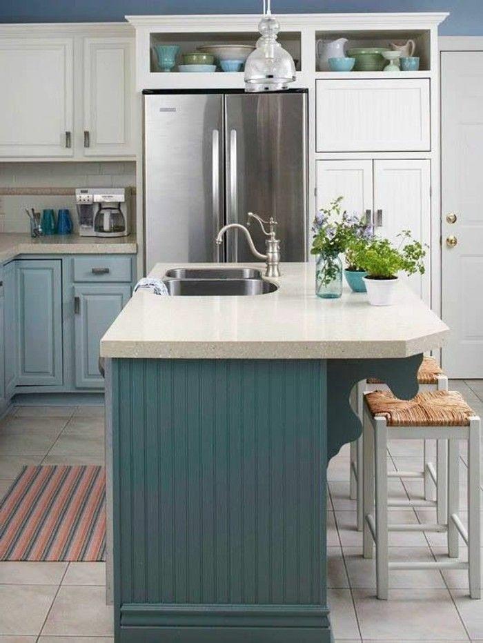 küchenfarben richtig auswählen – 60 küchendesigns in