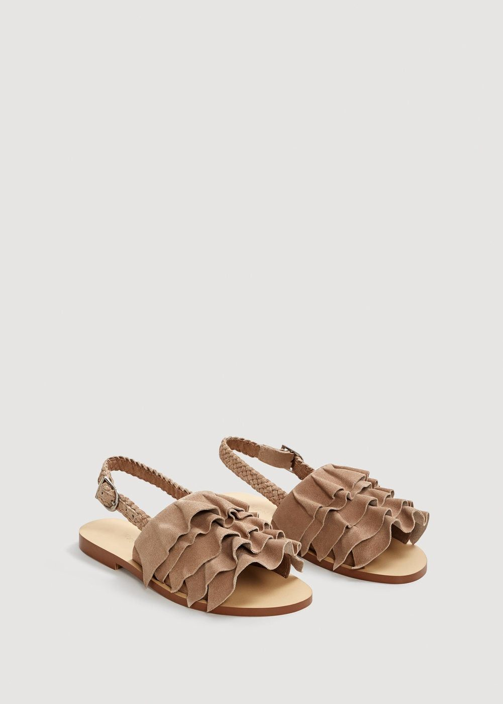 Sandalia Volantes Para 2019Shoes En Niñas Piel Niña Zapatos CBQrtshdx