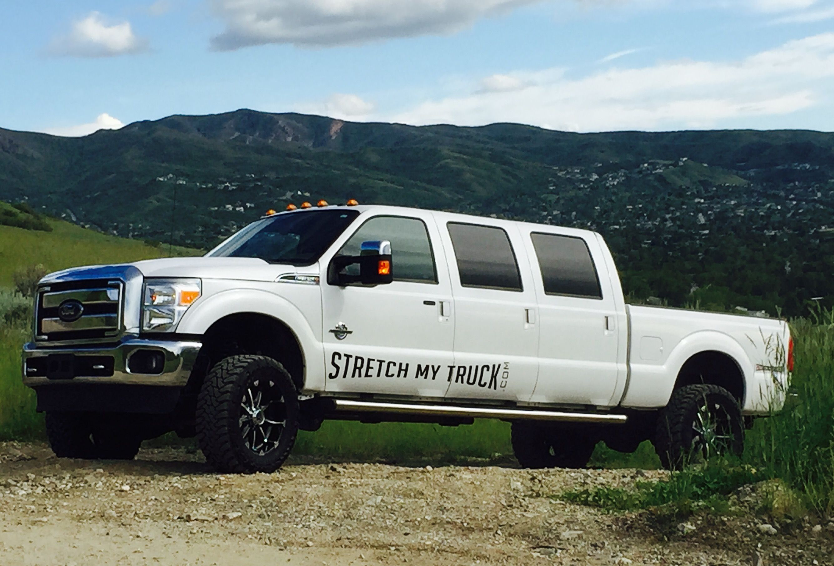 Stretch my truck, Home of the Long bed Dodge Ram Mega Cab