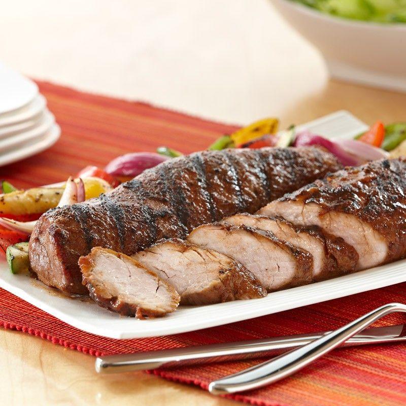 Grilled Sweet Savory Pork Tenderloin