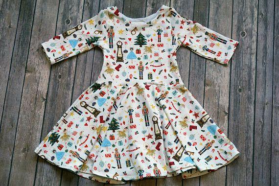 9091e994b Nutcracker Dress. Winter Dress. Christmas Dress. Baby Dress. Toddler ...