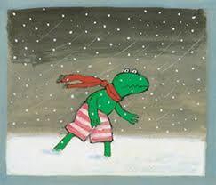 Kikker in de kou, allerlei lestips. #winterkleuters