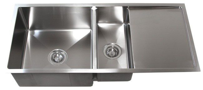 42 Stainless Steel Undermount Kitchen Sink W Drain Board Tz4219cfd Live Person Chat