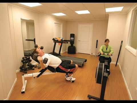 Basement home gym design ideas Small Finished Basement Ideas
