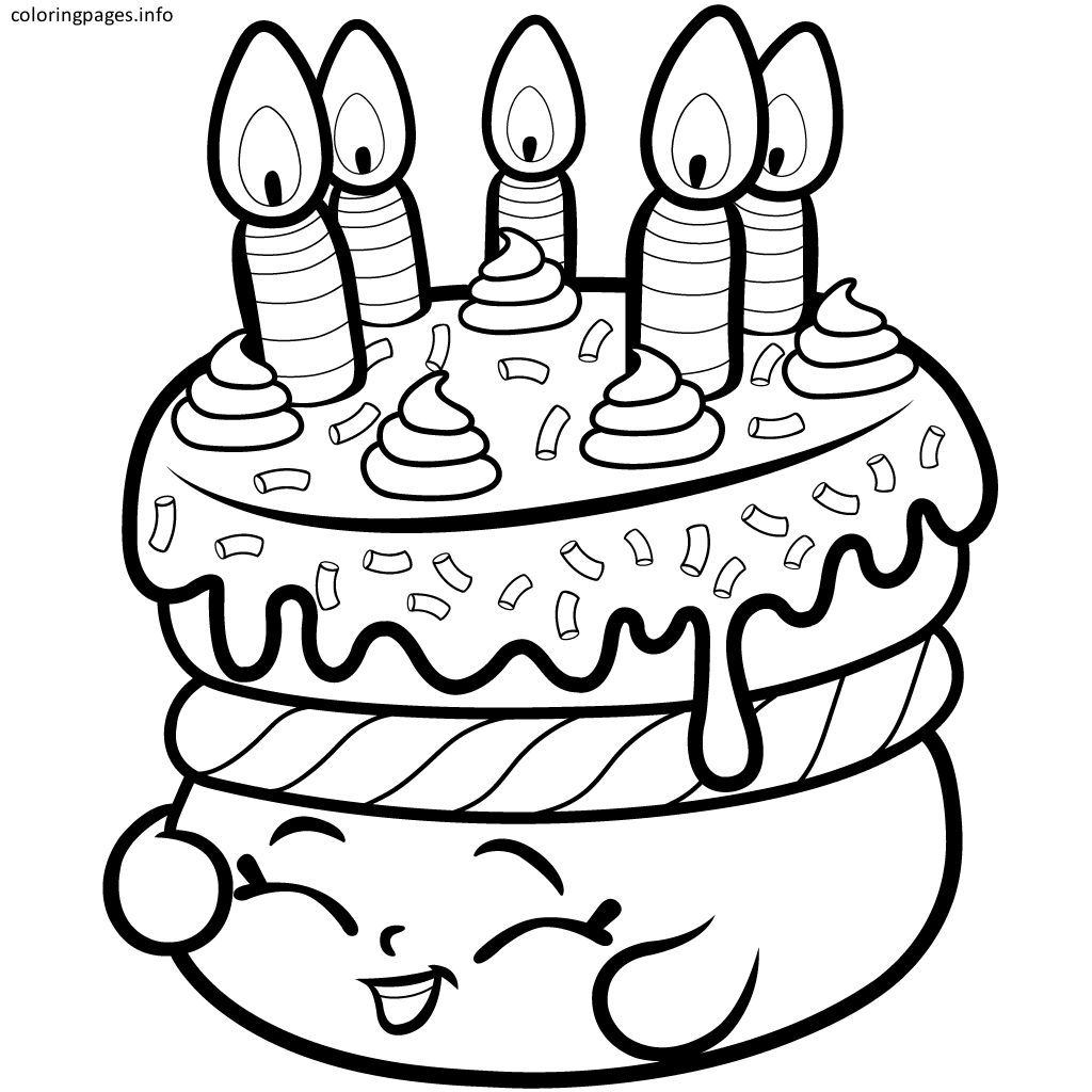 Shopkins Coloring Pages Cake Shopkins Coloring Pages Free Printable Shopkin Coloring Pages Shopkins Colouring Pages