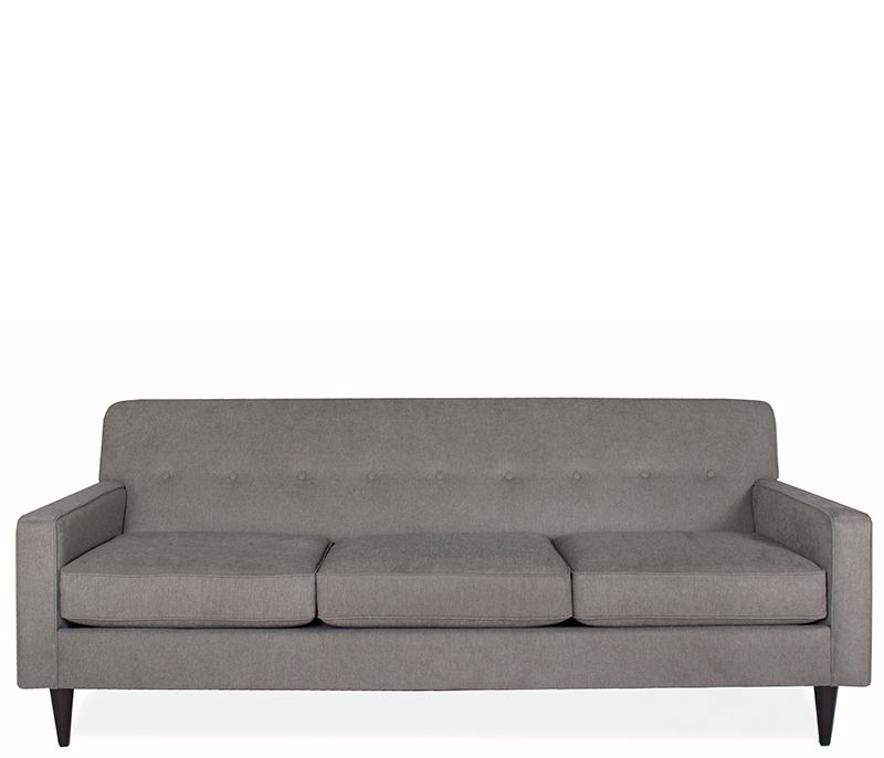 Giselle Sofa   Exclusive To Boston Interiors, This Tufted, Tight Back  Collection Offers High Style With Low Maintenance. Stocked In A Textured  Granite ...
