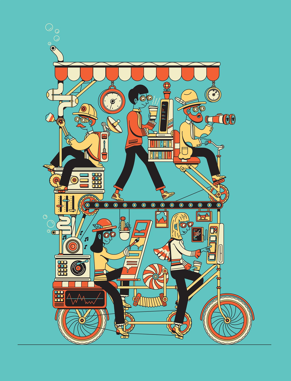 google teamwork ill in 2018 pinterest illustration michael
