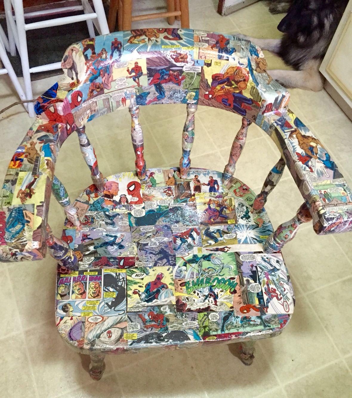 Comic book chair