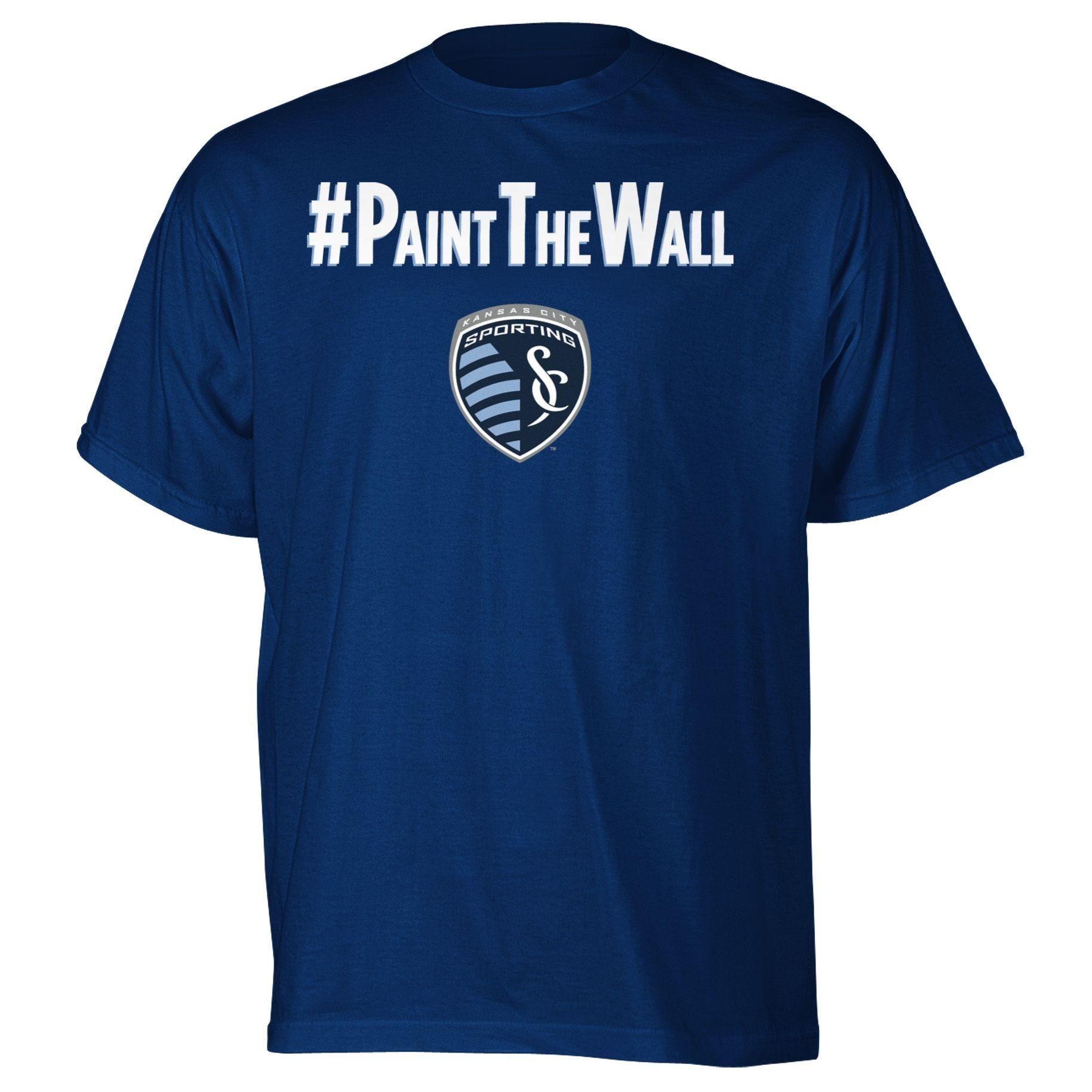 PaintTheWall shirt, Sporting KC! Sporting kc, T shirt