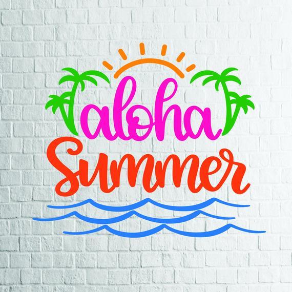 Buy 3 Get 1 Free   Aloha Summer (1) Svg, Summer Svg, Hello