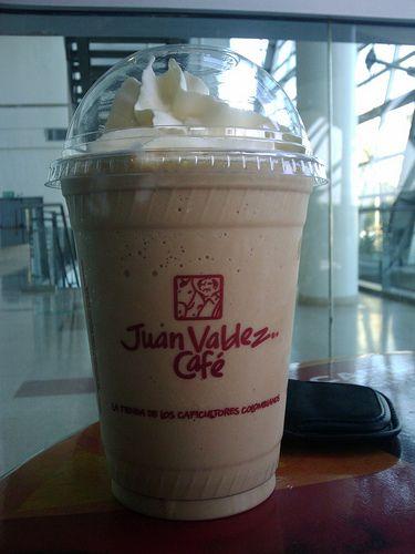 """Juan Valdez café"" the Colombian Starbucks :-D"