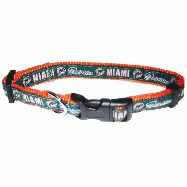 half off bd4c0 bbec0 Miami Dolphins Dog Collar | miami dolphins logo | Nfl miami ...