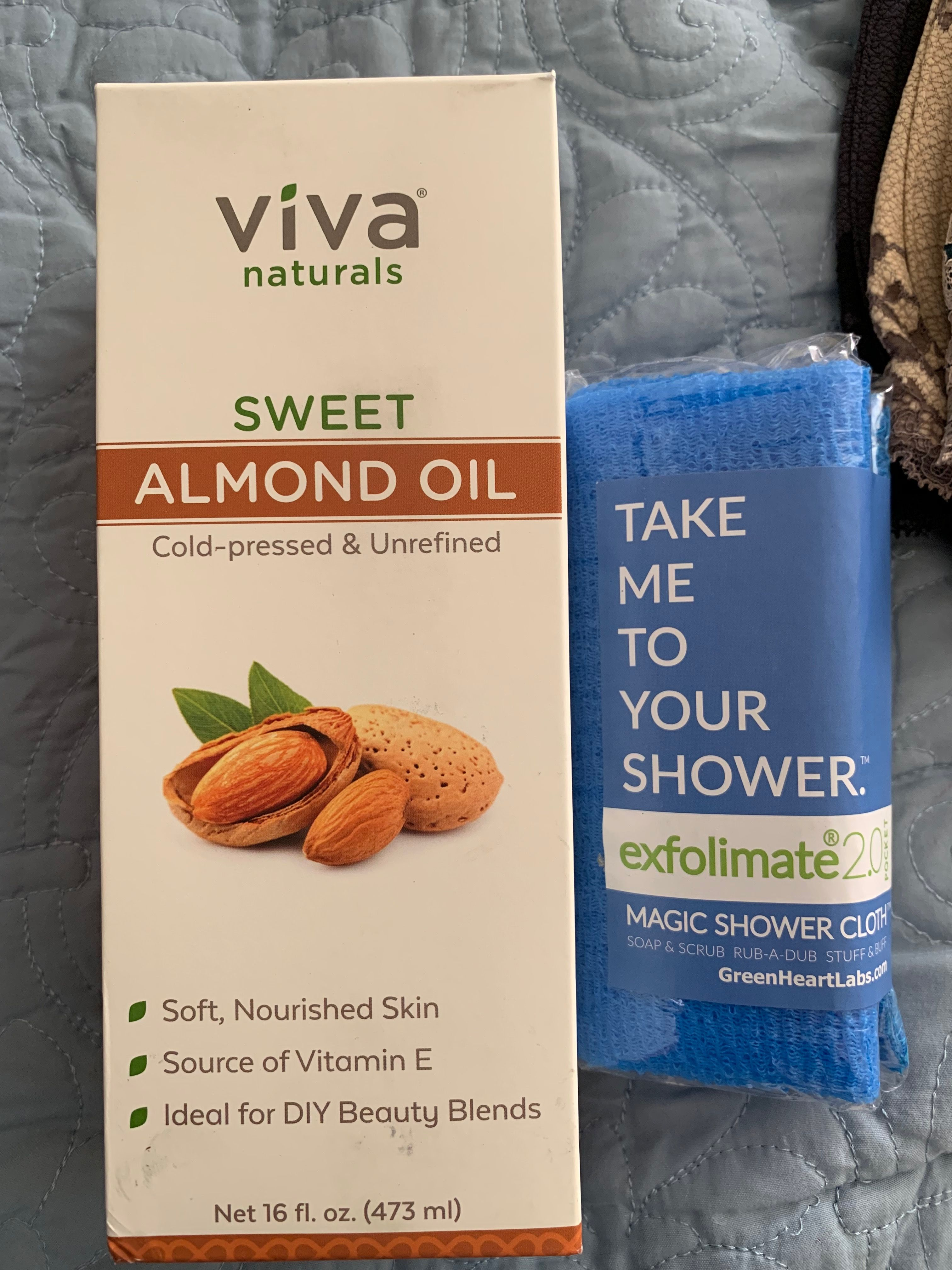 I Use This Almond Oil For Moisturizing My Skin And Hair