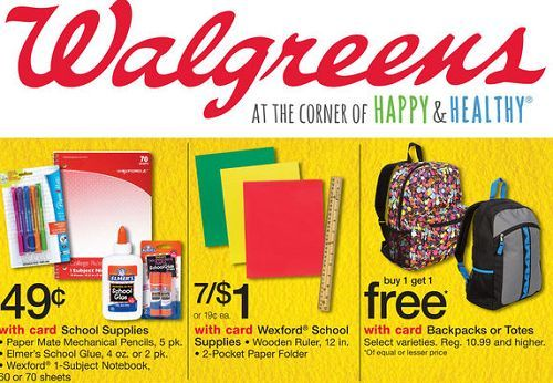 19 Items Under 1 At Walgreens For Back To School