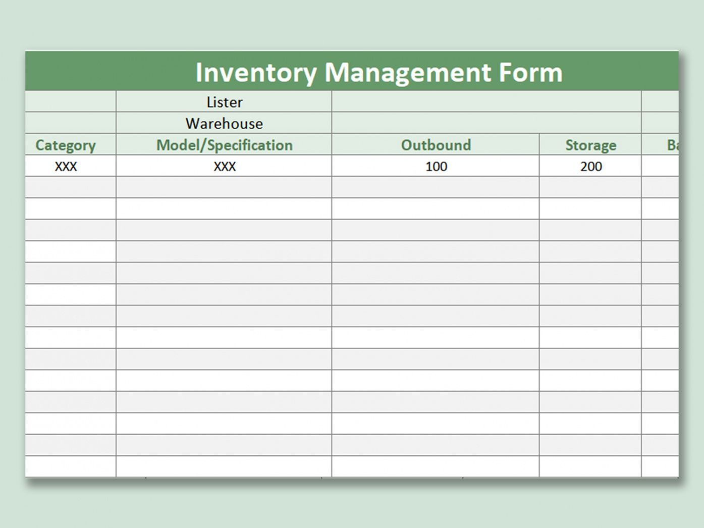 Sample Wps Template Free Download Writer Presentation Inventory Log Sheet Template Example Spreadsheet Template Templates Spreadsheet Design