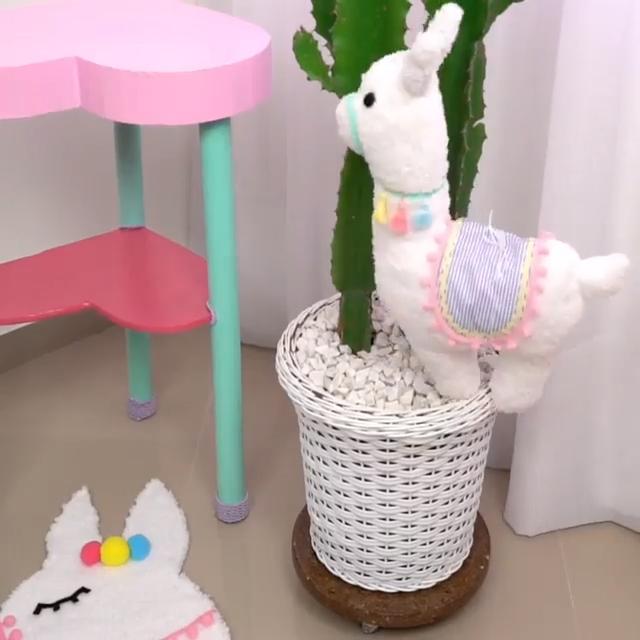 Photo of La más linda mini almohada de llama para mascotas #diypillow #llama #diylove #art