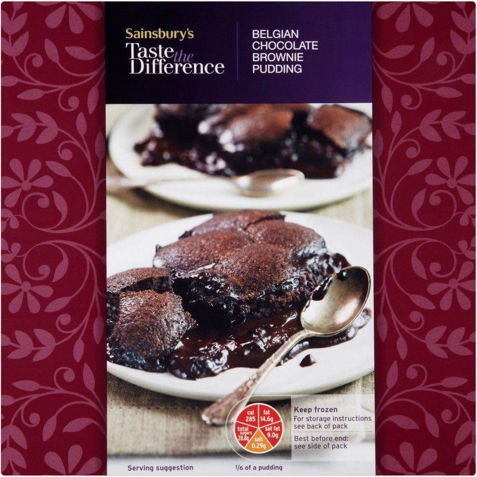 Brownie Tin Sainsburys
