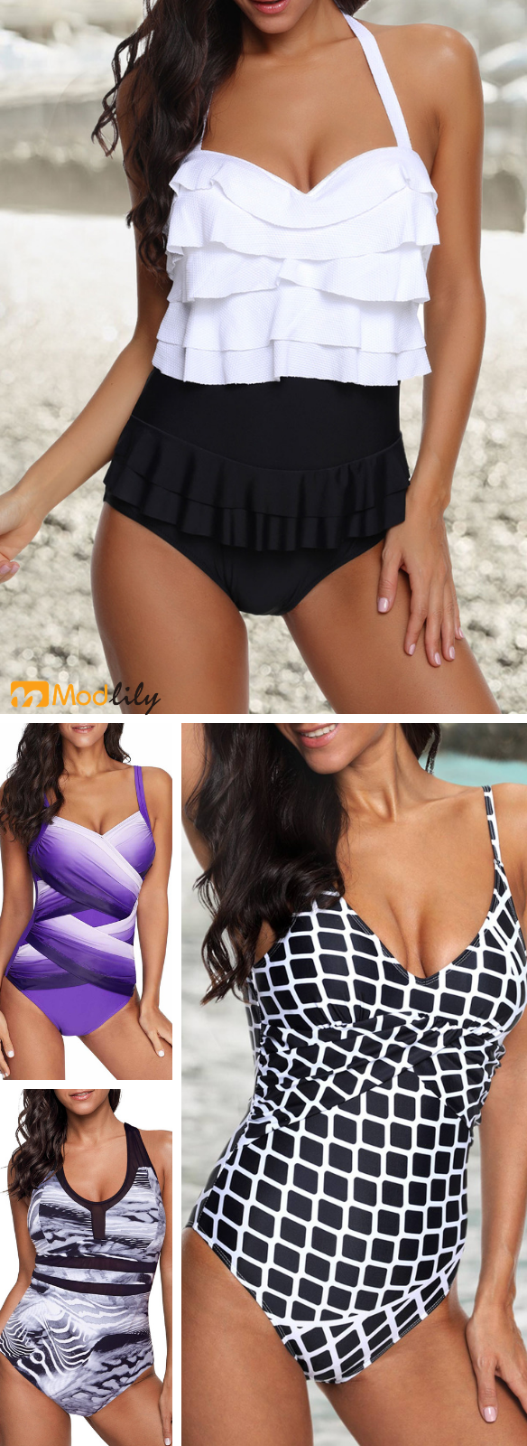 It's not just another beach trip, it will be the greatest one. Do fall in love with these amazing swimwear, same pattern, different feelings and spend a joyful vacation there! Being happy for something small, easy-going and cozy #beachvacationclothes