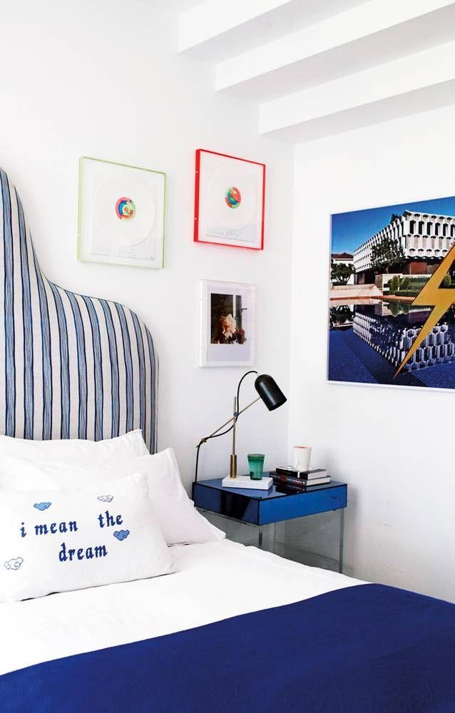 Inside Alex Eagle S London Flat Domino Home Decor Farm House Living Room Blue White Bedroom