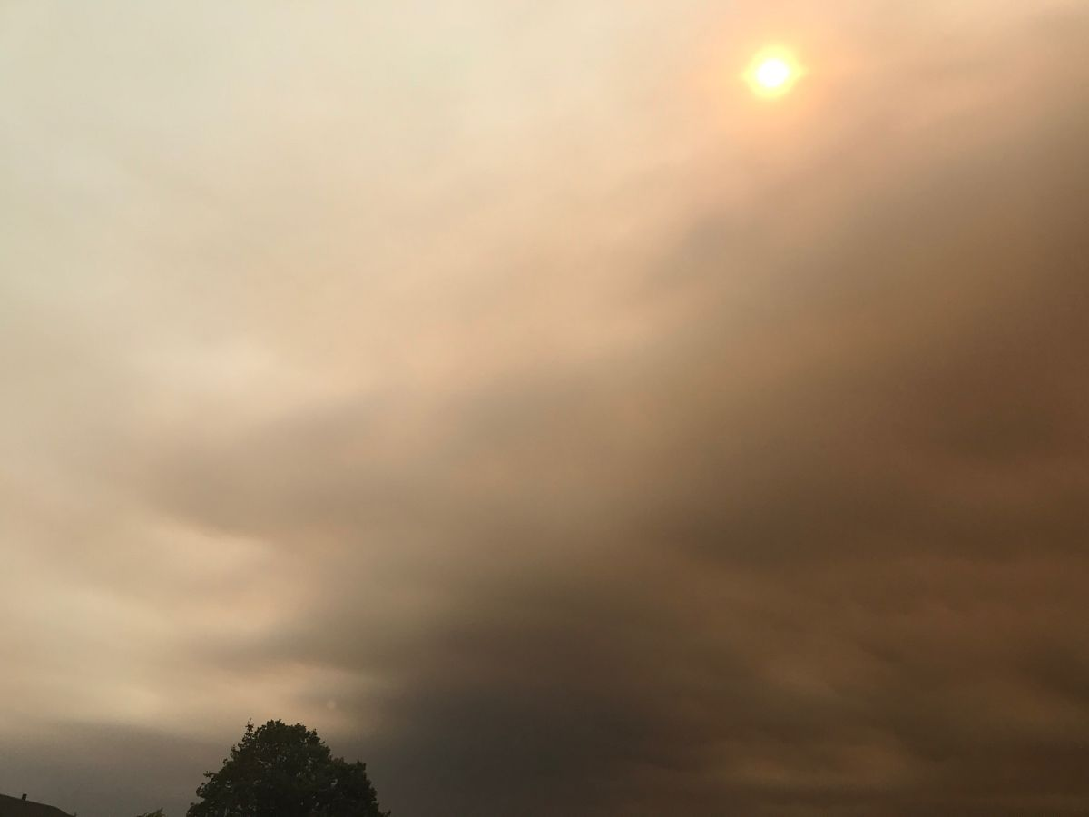 More Smoke In The Sky Wild Fire Outdoor Oregon