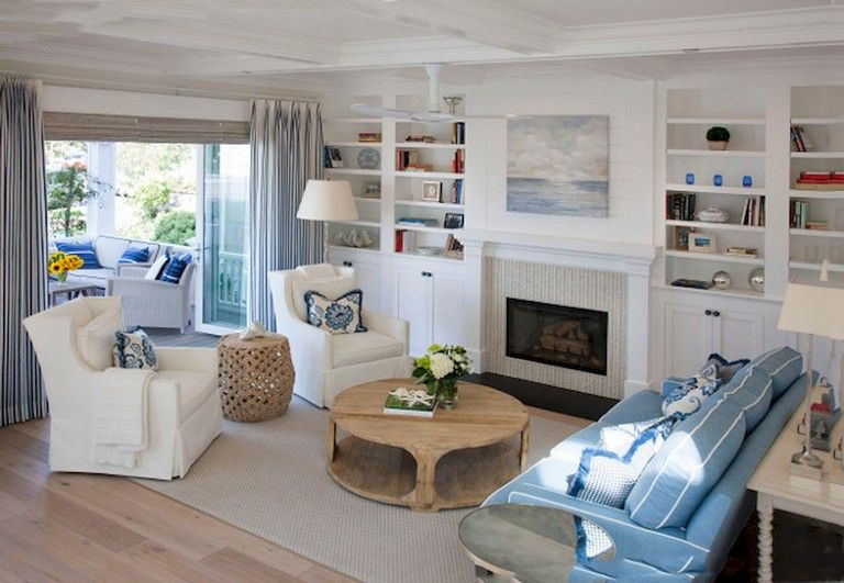 77 Comfy Coastal Living Room Decorating Ideas Coastal Living Rooms Coastal Living Room Small Living Rooms #small #coastal #living #room