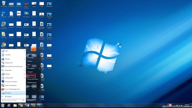 Windows 7 Home Screen And Start Menu Homescreen Windows Software