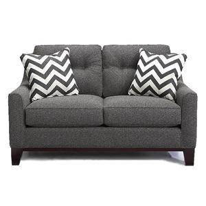 contemporary gray loveseat nebraska furniture mart for the rh pinterest com