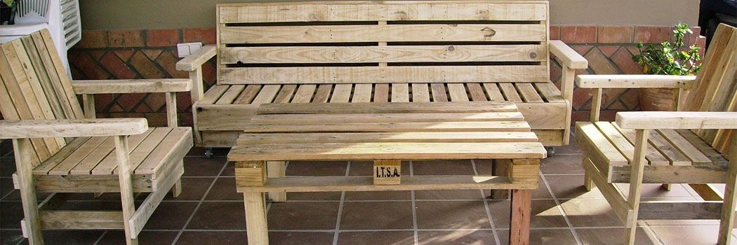 1000 ideas creativas para reciclar palets pallets ideas for Reciclado de palets sillones