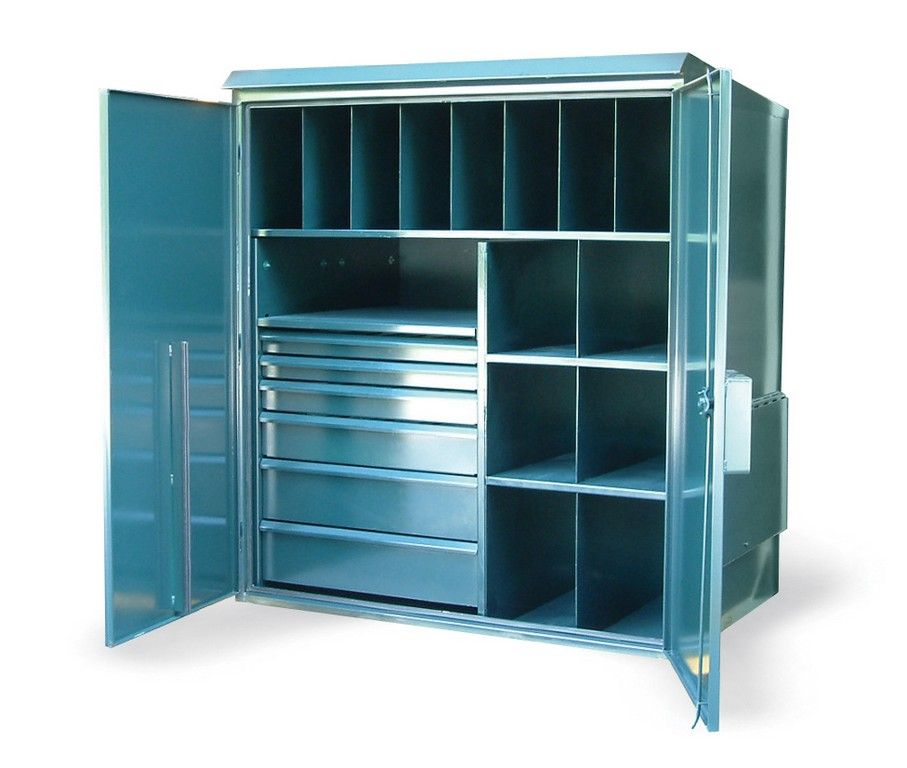 Narrow Outdoor Storage Cabinet Small Garden Box Sheds ...