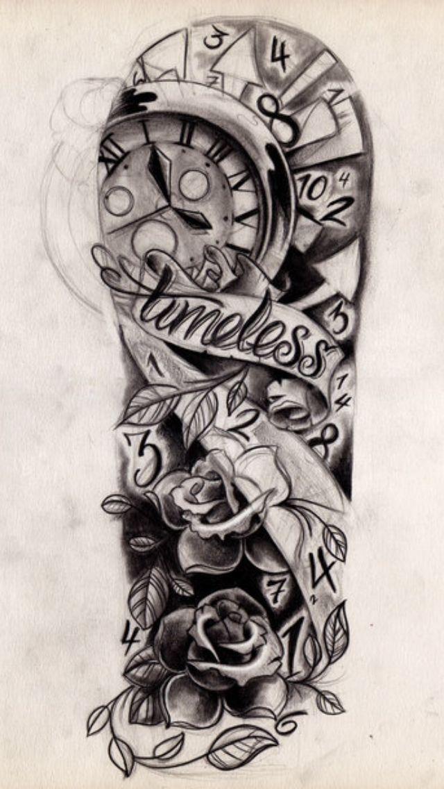 Timeless Tattoo Sleeve Tattoos That I Love Tattoo Sleeve