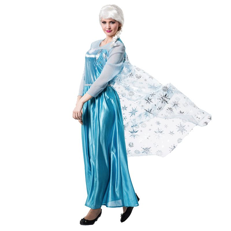 D guisement princesse des glaces femme costumes adultes - Princesse adulte ...