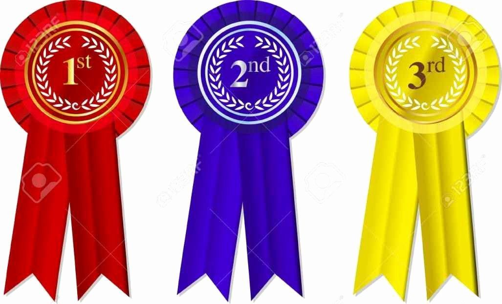 Printable 1st 2nd 3rd Place Ribbons Beautiful First Second ...